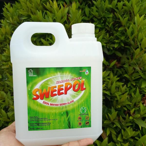 Sweepol Karbol Sereh Pembersih Lantai Sekaligus Aroma Theraphy