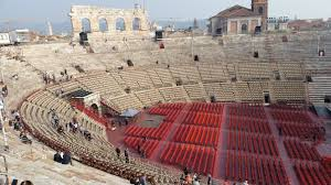 The Arena di Verona is now a major venue for both opera performances and music concerts