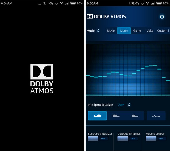 Dolby atmos untuk android