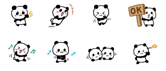 Loose Panda (silent sticker)