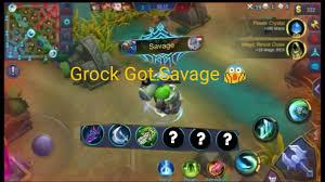 Best Build For Grock Mobile Legend (Savage) | Wallpaper ...