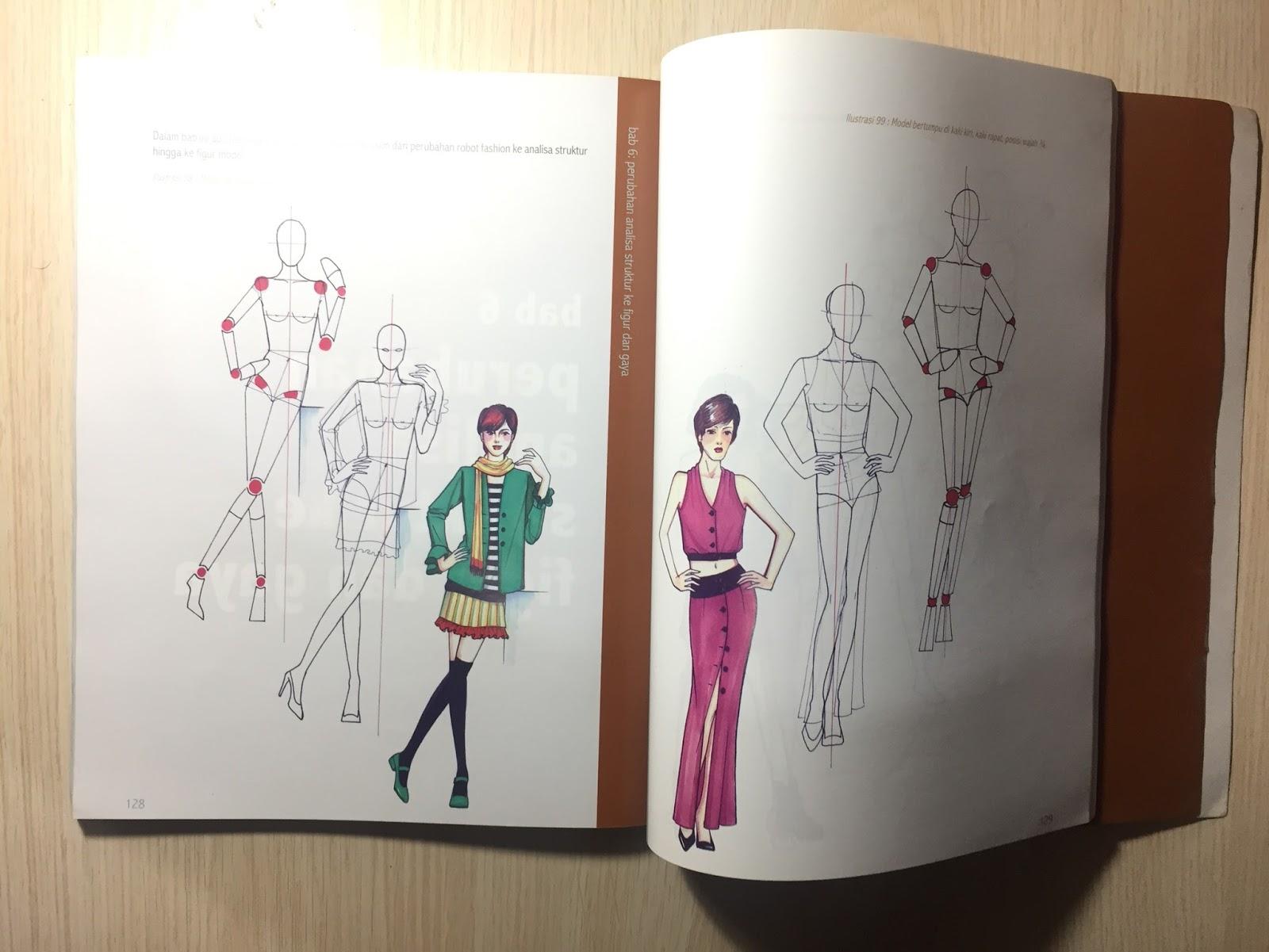 Buku Fashion Desainer Untuk Pemula By Find