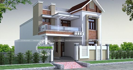 front decorative house elevation kerala home design and