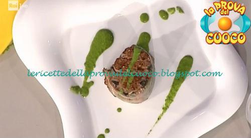Lomo argentino in salsa verde ricetta Simionato da Prova del Cuoco