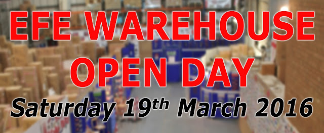 Exclusive First Editions Warehouse Open Day March 2016