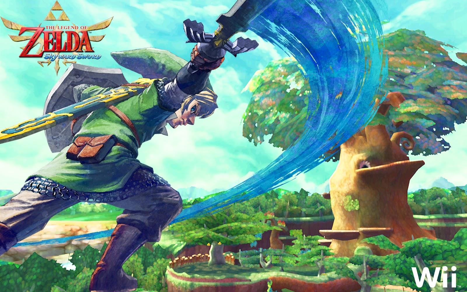 Video Game Gallery The Legend Of Zelda Skyward Sword Wallpaper