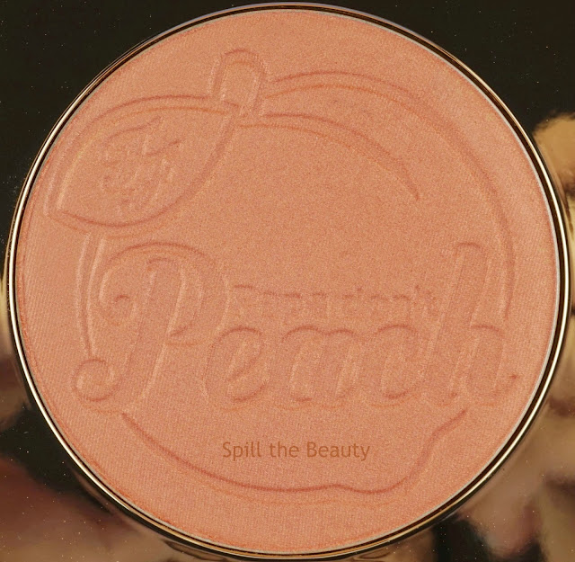 too faced papa dont peach peach infused blush review swatches dupe