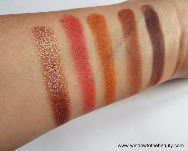 the malika swatches