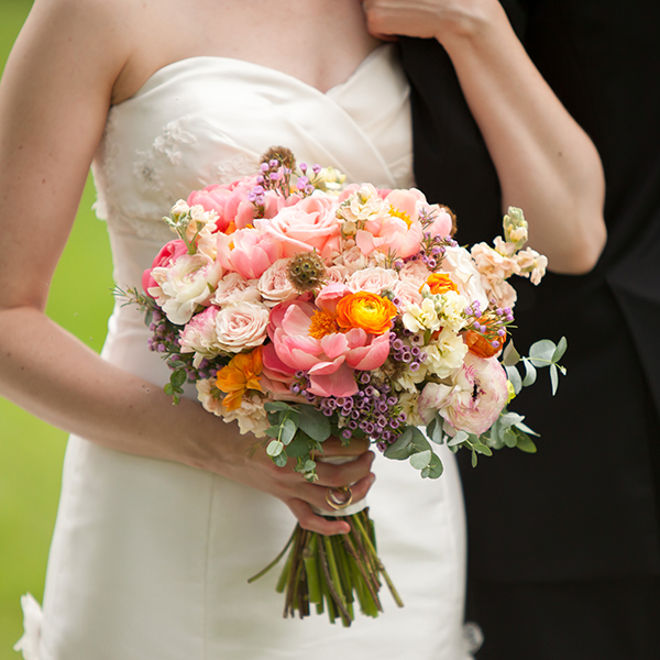 Modern Wedding Bouquets with Texture