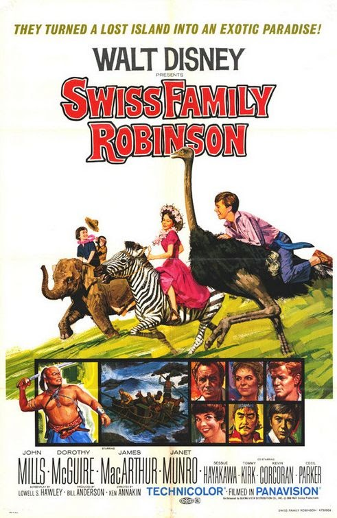 Watch Swiss Family Robinson (1960) Online For Free Full Movie English Stream