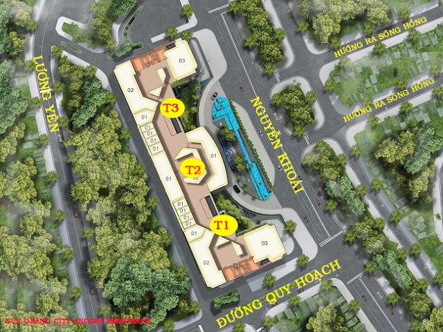 Quy hoạch Chung cư Sun Grand City Ancora Residence Lương Yên