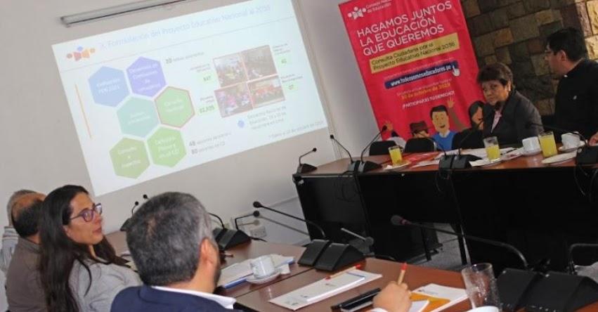CNE: Instituciones de la sociedad civil brindaron aportes al PEN 2036 - www.cne.gob.pe