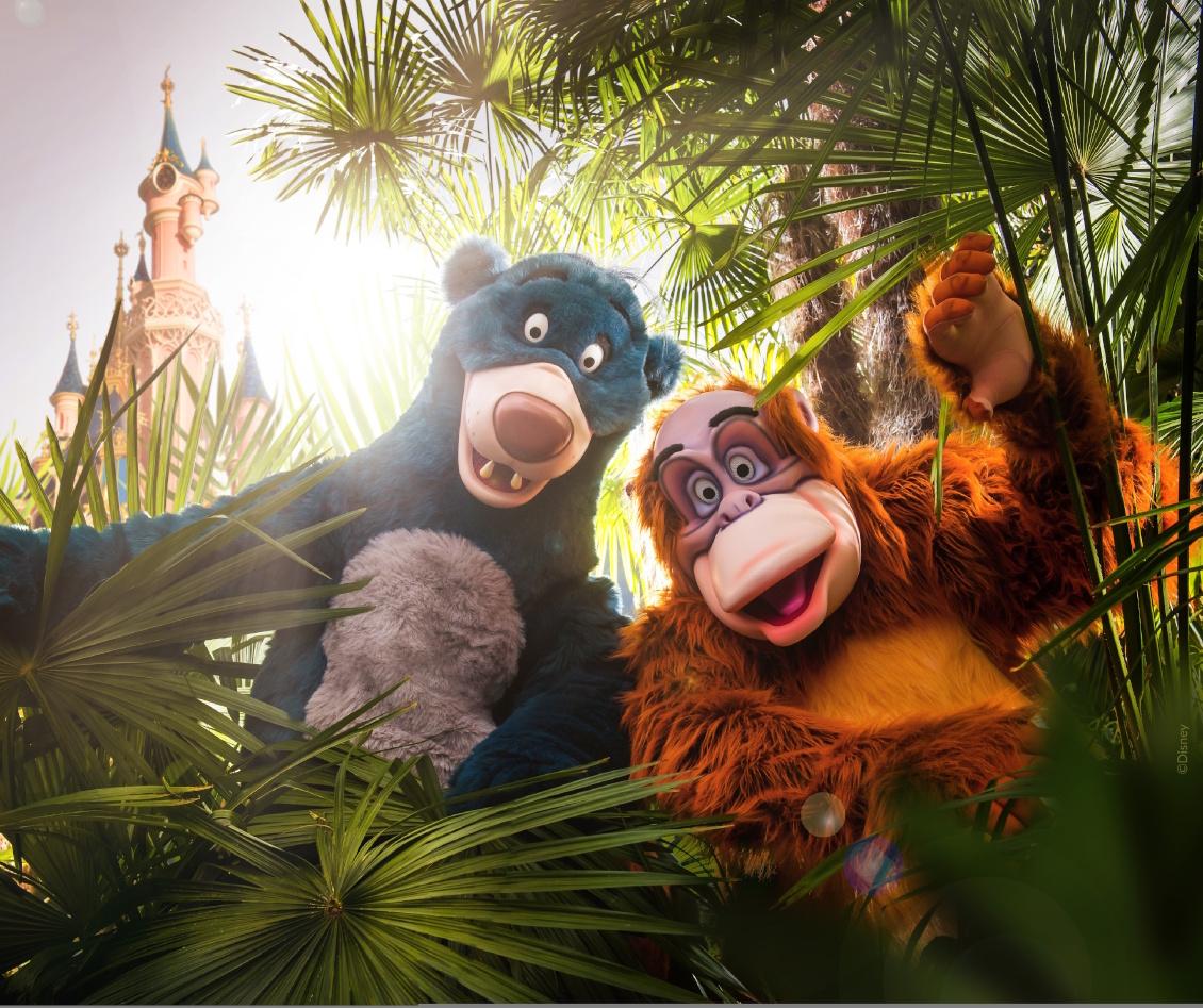 Disneyland Paris - König der Löwen Dschungel Festival - Dschungelbuch