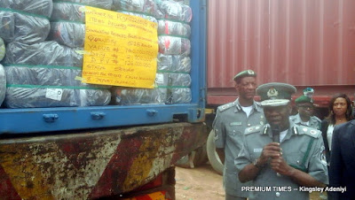 Nigeria Customs impounds 498 cartons of codeine syrup