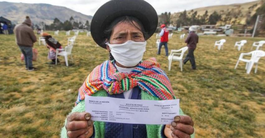 MIDIS: Más de 1.1 millones de hogares de pueblos andinos, amazónicos y afroperuanos han accedido a un bono durante la emergencia sanitaria
