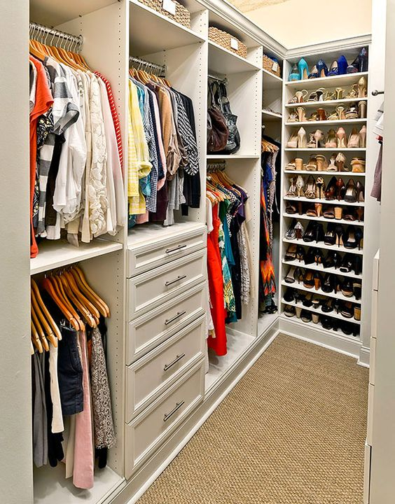como arrumar o armário de roupa