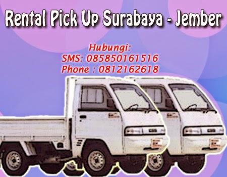 Rental Pick Up Zebra Surabaya-Jember
