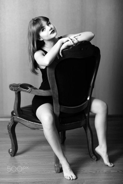 Murat Kuzhakhmetov 500px arte fotografia mulheres modelos fashion beleza preto e branco