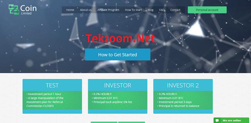 [SCAM][Zcoin] HYIP - Lãi 0.2% mỗi giờ, rút vốn mọi lúc, đầu tư tối thiểu 0.01 BTC