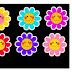 Kit de Flores para Fiesta de 15 Años para Imprimir Gratis.