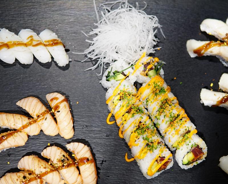 silja serenade ravintola, sushi, sshimi, maki