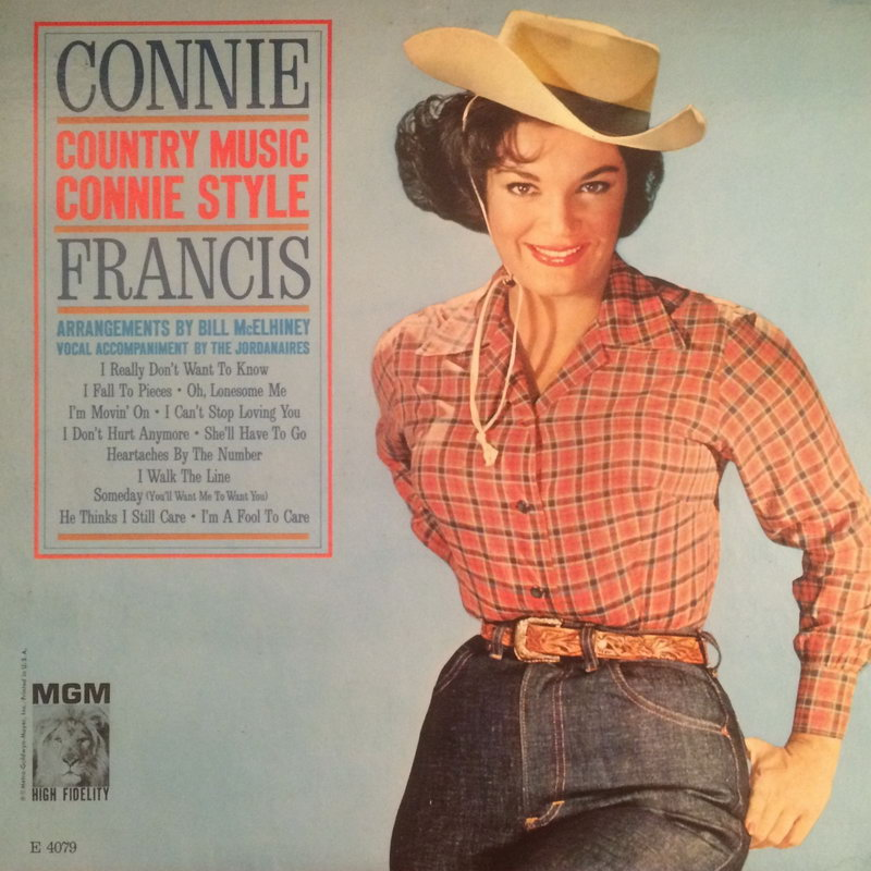 Entre Musica Connie Francis Country Music Connie Style 1962