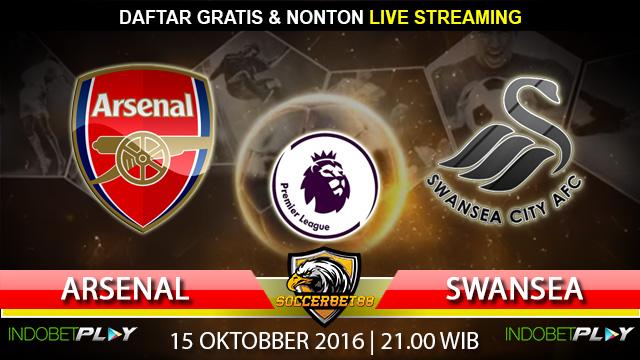 Prediksi Arsenal vs Swansea 15 Oktober 2016 (Liga Inggris)
