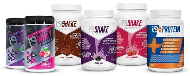 i9Shake, Whey e Plus Protein