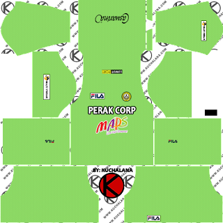 PKNP FC Kits 2018 -  Dream League Soccer Kits