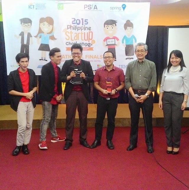 MSU-IIT Bags 2015 Philippine StartUp Challenge