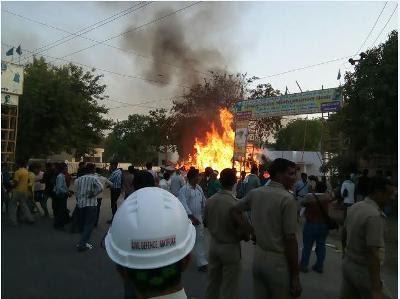 Mathura SP among 20 killed in clash