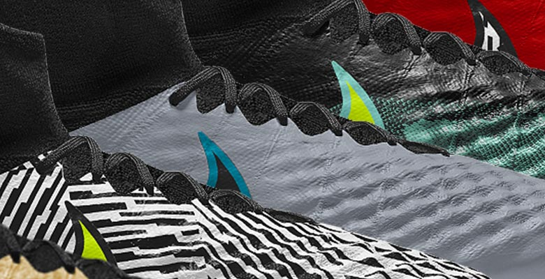 Allowing players to create their own versions of the shoe as alternatives  to the very bold launch colorway 7fa52b55228cf
