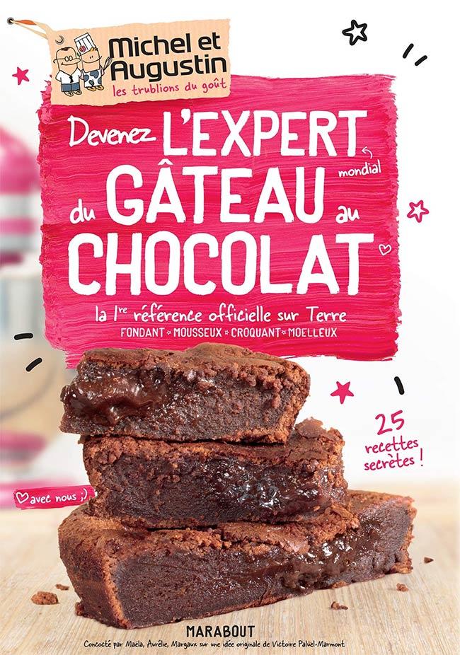 livre gateau au chocolat michel augustin