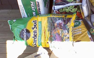 bag or garden soil
