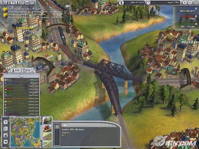 Sid Meiers Railroads PC Descargar Español ISO 1 Link