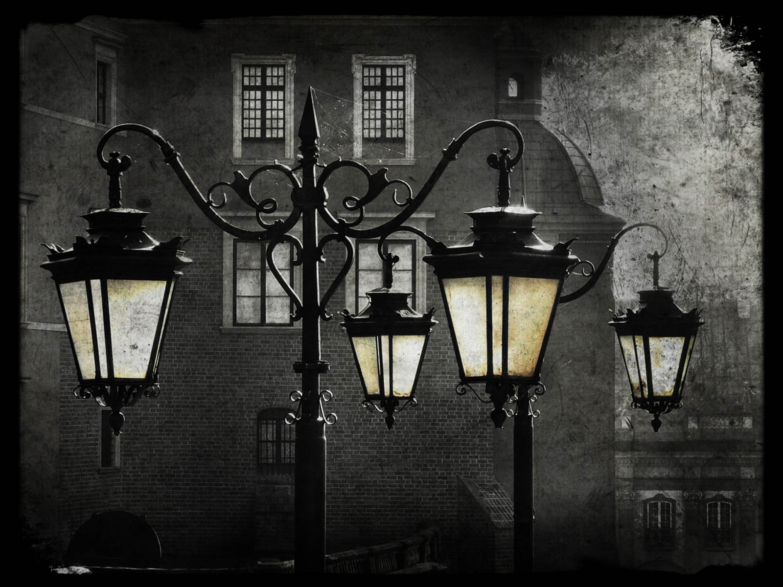 Street Lamp Wallpaper Wallpapers Street Lamps