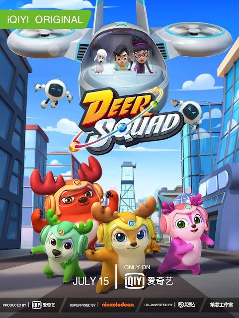 Nickelodeon Asia : nickelodeon, Nickelodeon, Premiere, 'Deer, Squad', August, 2020