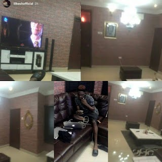 Young And Getting It!! Lil Kesh Shows Off His Crib (See Photos)