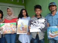 Siswa Semarang Juara Kartun Internasional di China