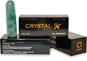 Crystal X Jogja Asli Distributor NASA