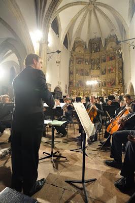 Concierto de la OSPA en la iglesia de Llanes, agosto 2008
