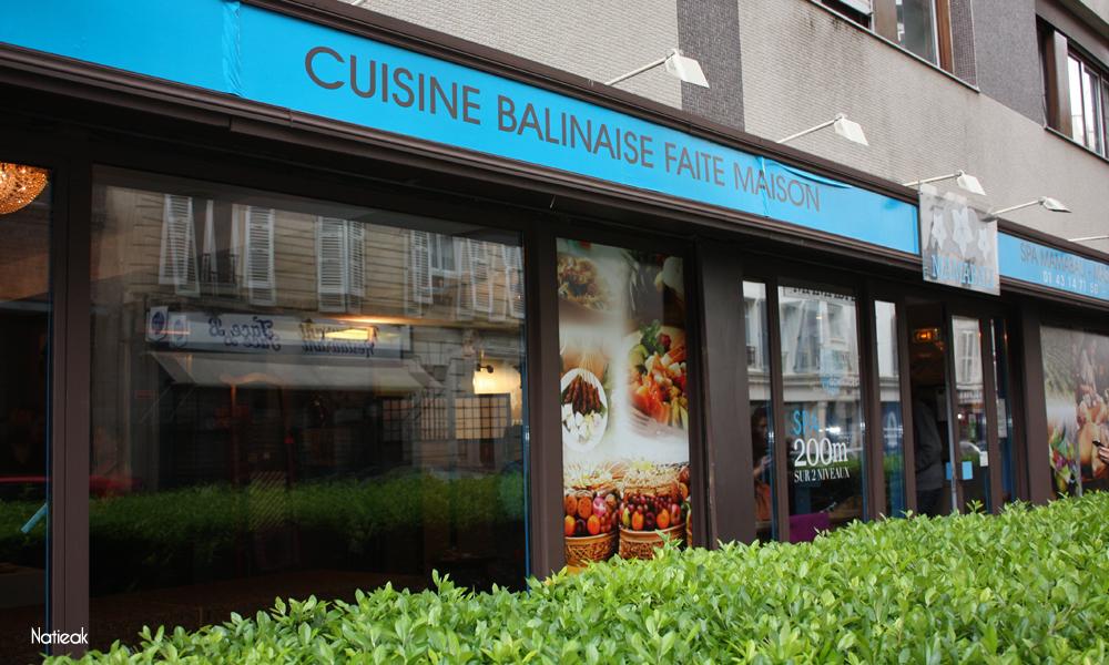 restaurant Balinais MamaBali à Paris