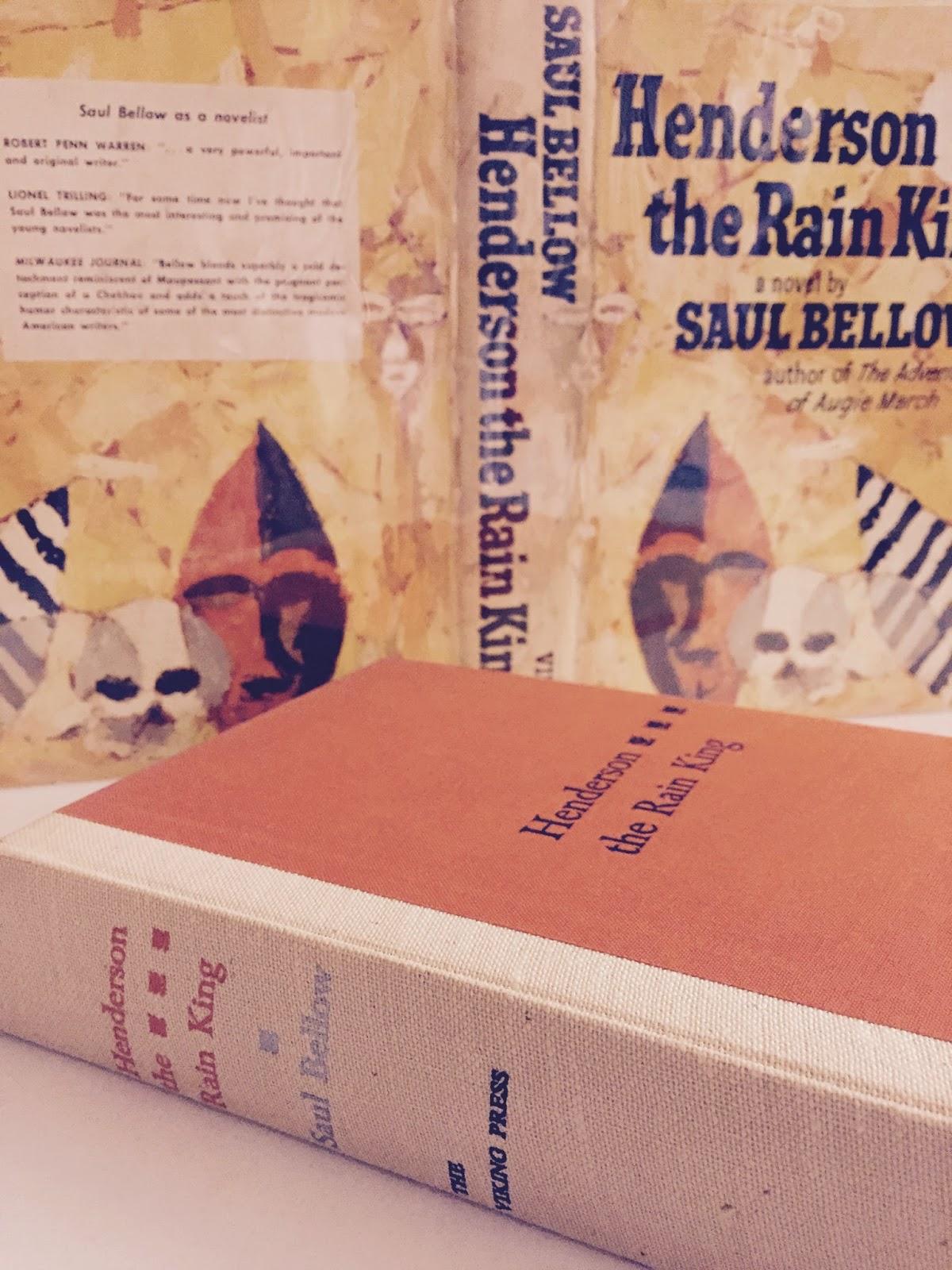 Henderson The Rain King Bookporn Club
