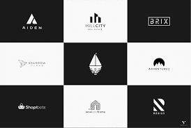 contoh logo yang simpel