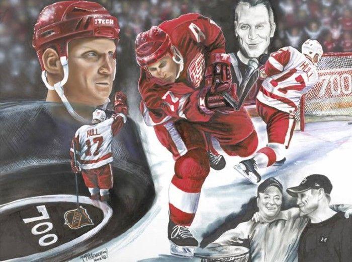 Канадский художник. Murray Henderson