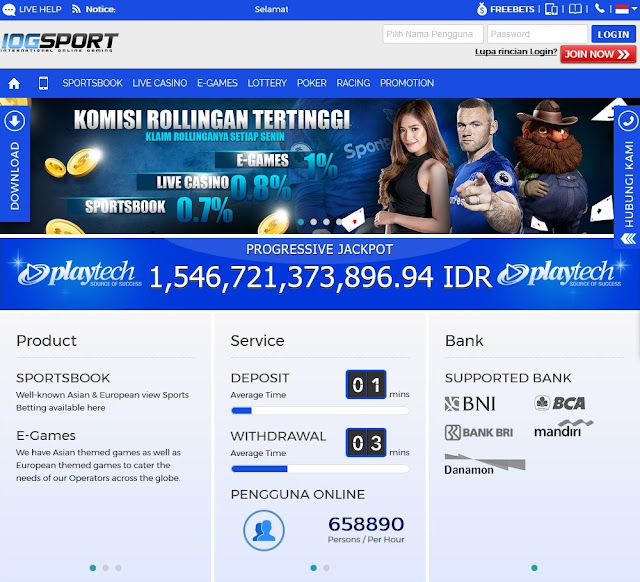 Link Alternatif IOGSPORT Terbaru 2018