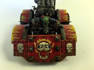 2nd Edition Ork War Buggy - Front and Driver
