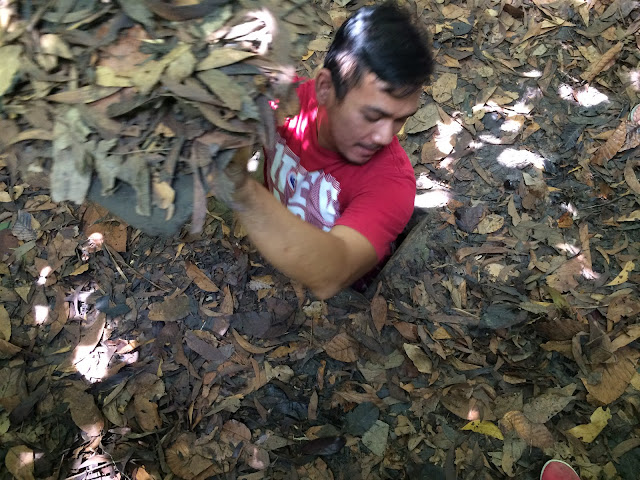 Spot Photo Wajib Di Chu Chi Tunnels