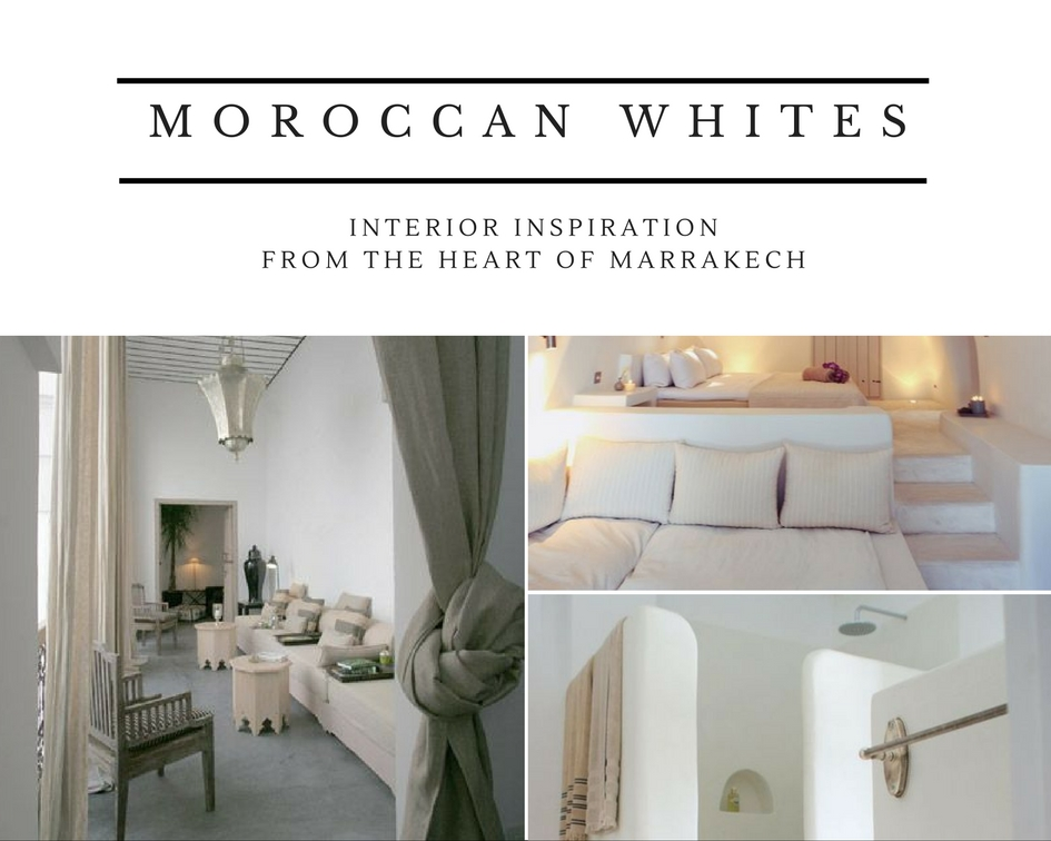 white moroccan interior