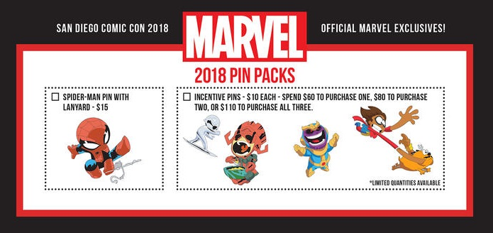 scarlet Witch Sdcc 2019 Scottie Skottie Young Pins Marvel Super Heroes
